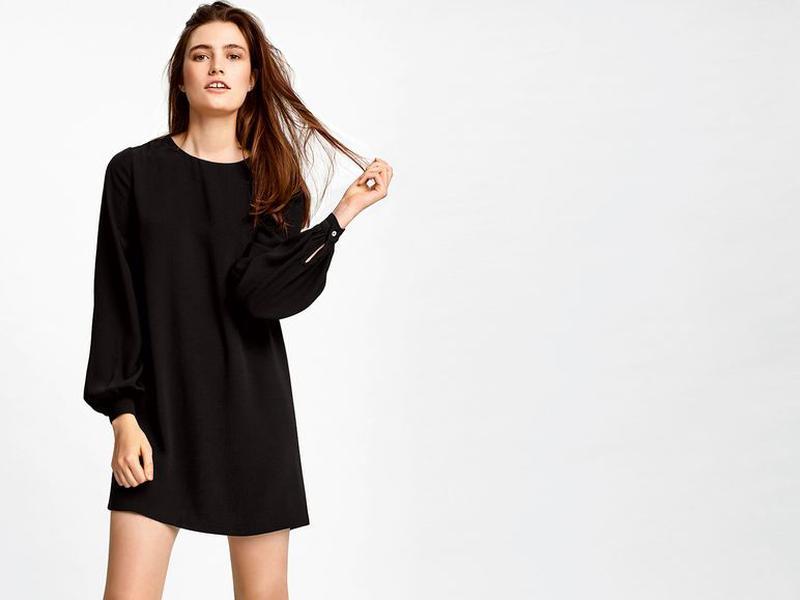 121626efc19 Классическое чёрное платье heidi klum Heidi Klum