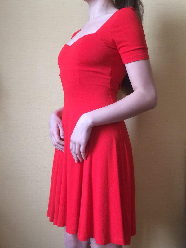 e307c294124 Красное трикотажное платье asos ASOS