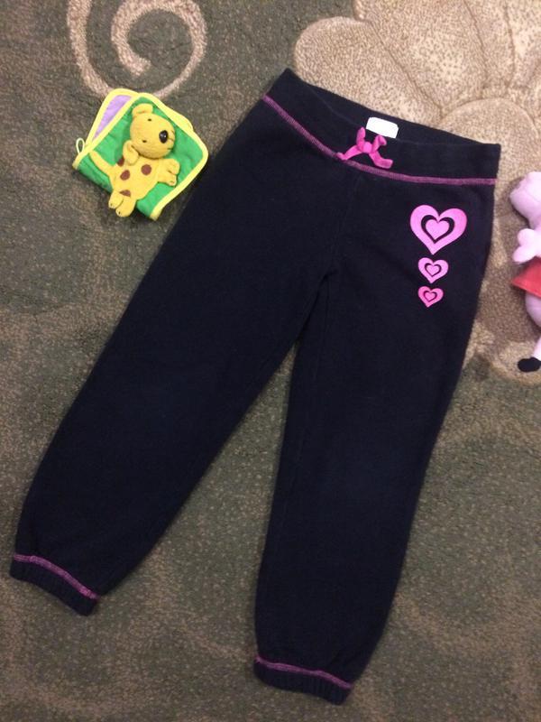 Спортивные штаны брюки place с сердцем на резиночках Children s ... 2440003f3a0b1