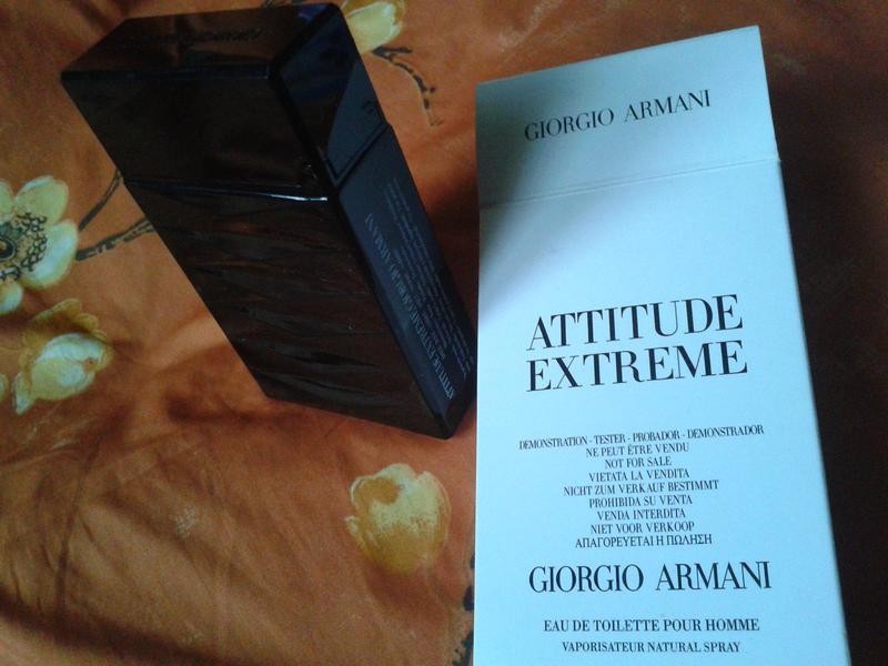 Giorgio Armani Attitude Extreme 50ml оригинал новый тестер