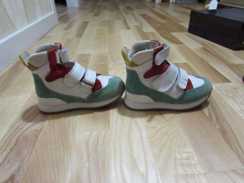 Осінні шкіряні кросівки 1a16bf50a584b