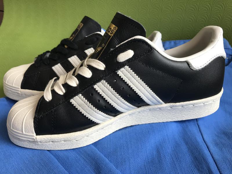 Легендарные кроссовки adidas originals superstar 80s black оригинал g610691  ... 79314f71c1d82