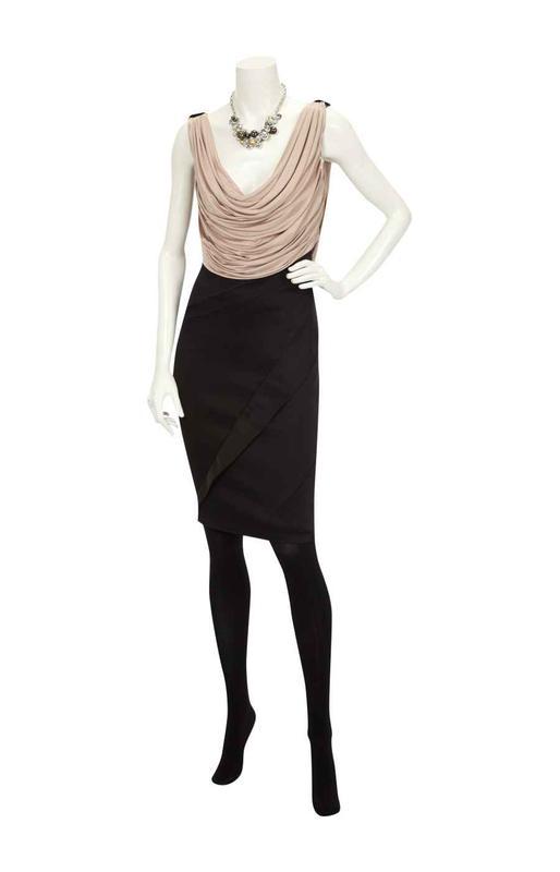 de845c6ac835761 ... Шикарное атласное платье футляр karen millen (оригинал, англия) с  драпировкой2 фото ...