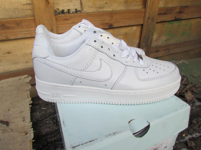 a3c55d0d Хит белые женские кроссовки кожа nike air force Nike, цена - 650 грн ...