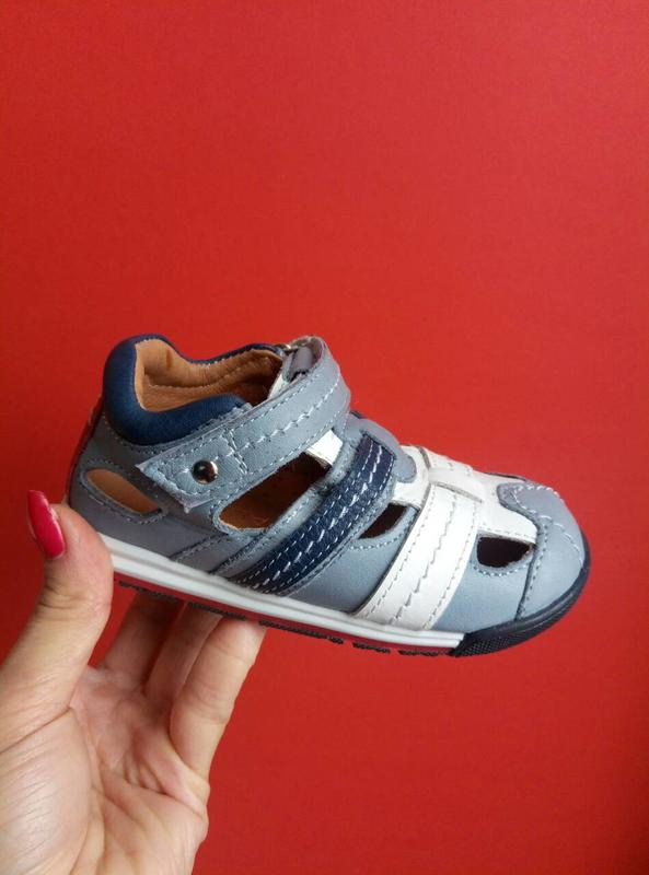 Кожаные мягенькие сандалии palaris b890c92c8afe8