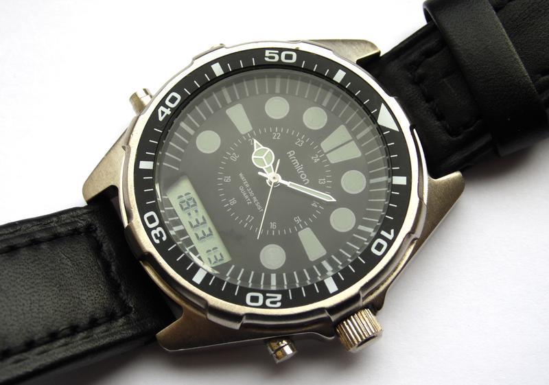 Armitron мужские часы 20 2167k двойной циферблат1 ... 5f0b70c7a1ba0