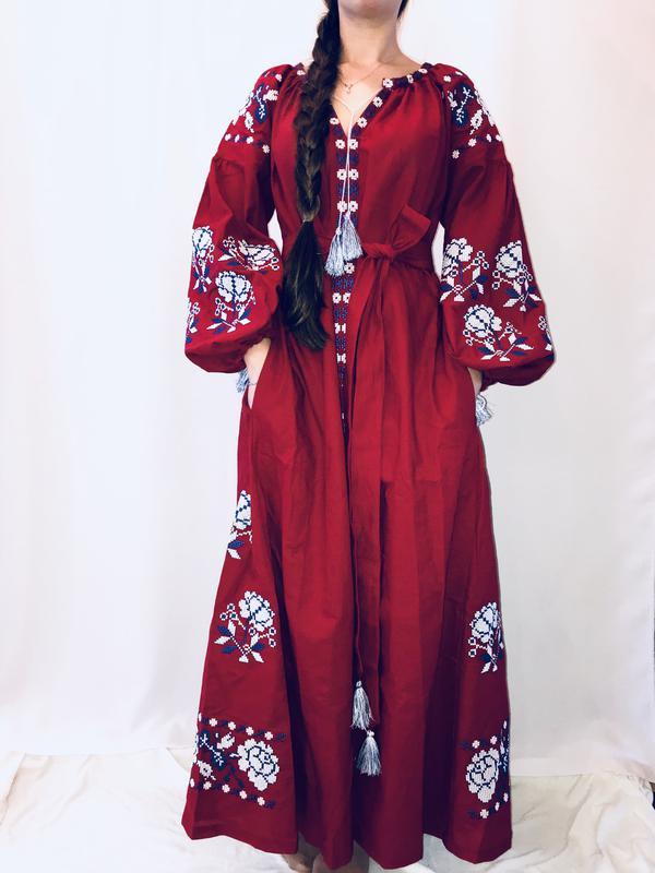 Стильна сукня вишиванка в стилі бохо1 ... bc505063d432e