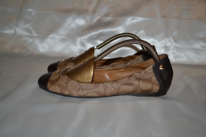 Кожаные балетки coach new york, р. 37, оригинал Coach, цена - 750 ... ad3449e04ce