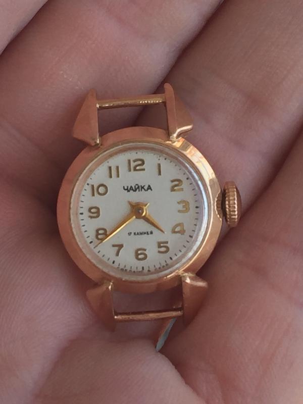 9efc1c778cd4 Золотые часы чайка, цена - 3700 грн,  11749636, купить по доступной ...