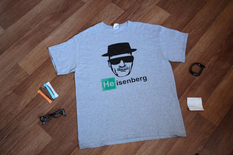 1ffcfb3ccc811 Breaking bad, во все тяжкие, уолтер уайт, хайзенберг, heisenberg футболка1  фото ...
