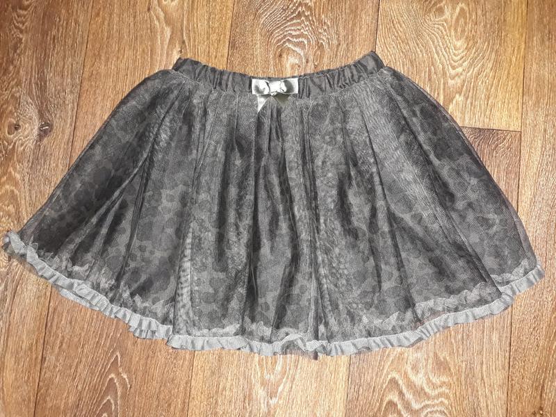 541de7b66e4 Очень пышная юбка пачка от h m для девочки на 8-9 лет.1 фото ...