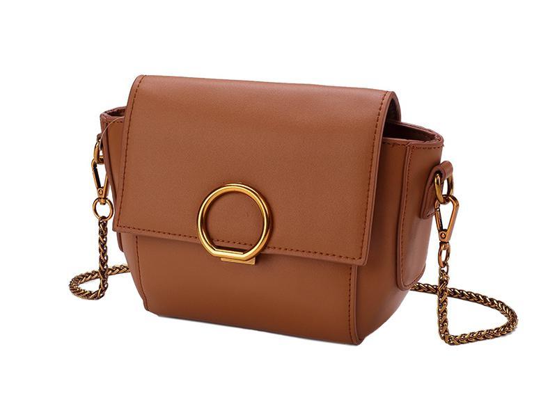 f61257f4ed95 Стильная кожаная женская светло-коричневая сумка кроссбоди ремешок цепочка  ручная работа1 фото ...