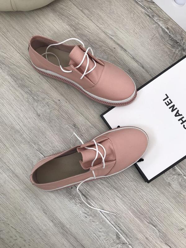 11f9476903f3 Кожаные слипоны кеды кроссовки. женская обувь из натуральной кожи за 520  грн.