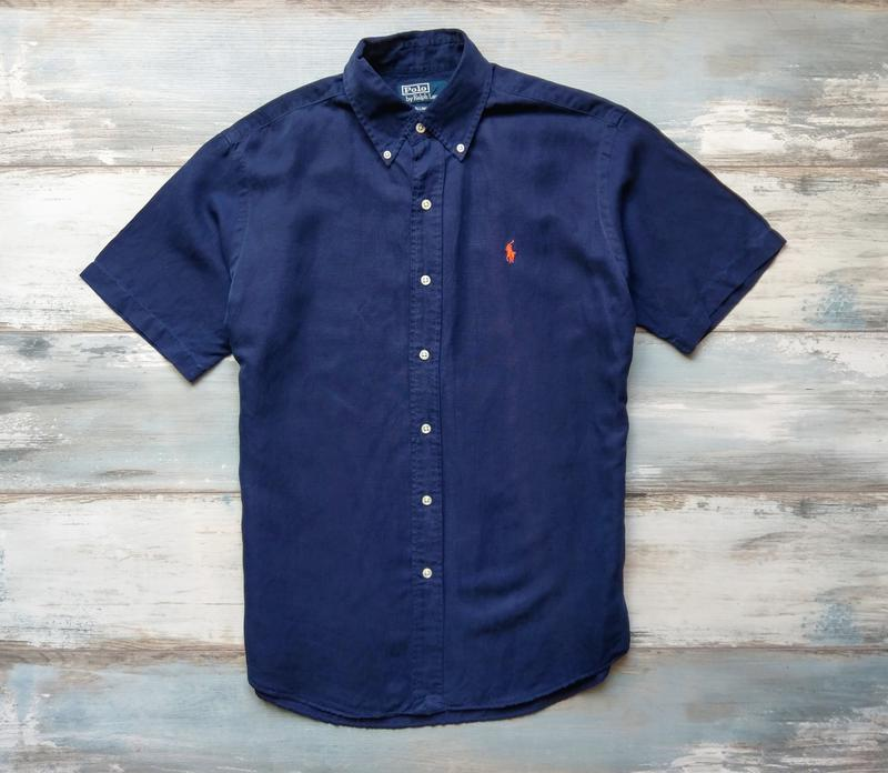 cbdc20c89d2 Шелковая рубашка тенниска polo ralph lauren Ralph Lauren