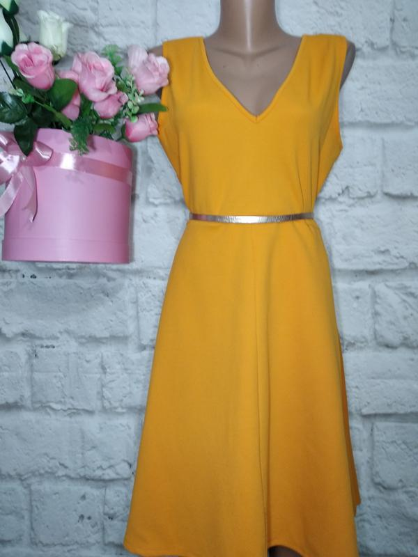 28a5f7e0934b Платье миди фактурное широкая юбка р 16 dorothy perkins Dorothy ...