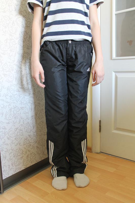 Adidas плащевка спортивные штаны оригинал женские Adidas, цена - 150 ... d87d2008461