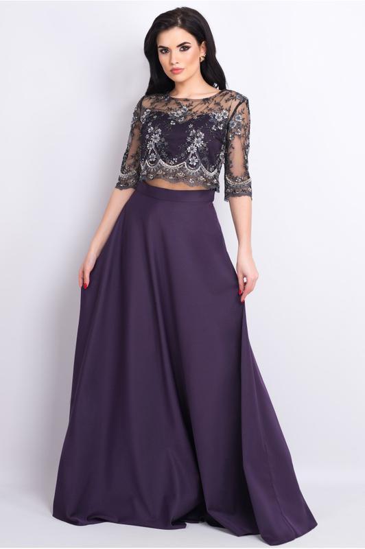 7367f0f904bf5a4 Вечернее , выпускное платье ( комплект топ + юбка ) Seam, цена ...