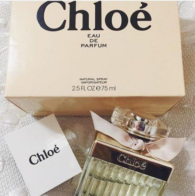 cfcee851d4a1 Женская туалетная вода chloe eau de parfum chloe 75 мл, цена - 450 ...