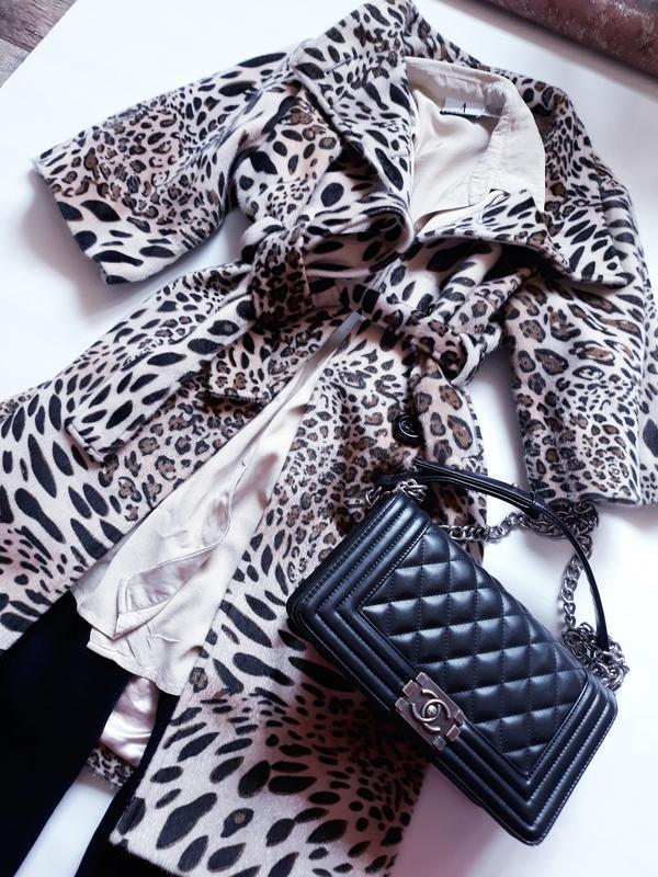 9571cbf115a9 Леопардовое пальто люкс бренд max mara оригинал (Max Mara) за 2499 грн.