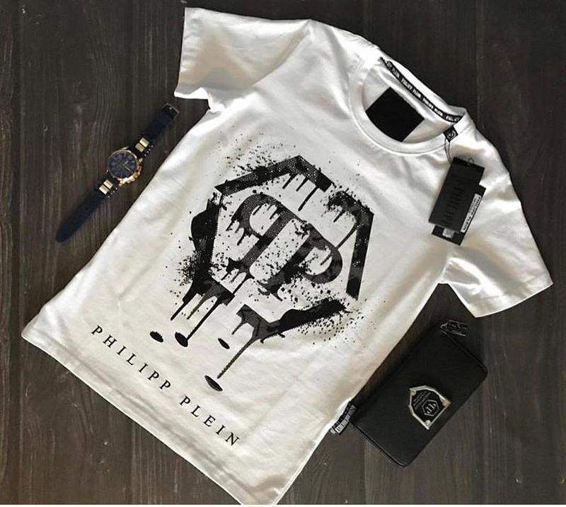 d0b57d9c40c Крутая мужская футболка philipp plein Philipp Plein