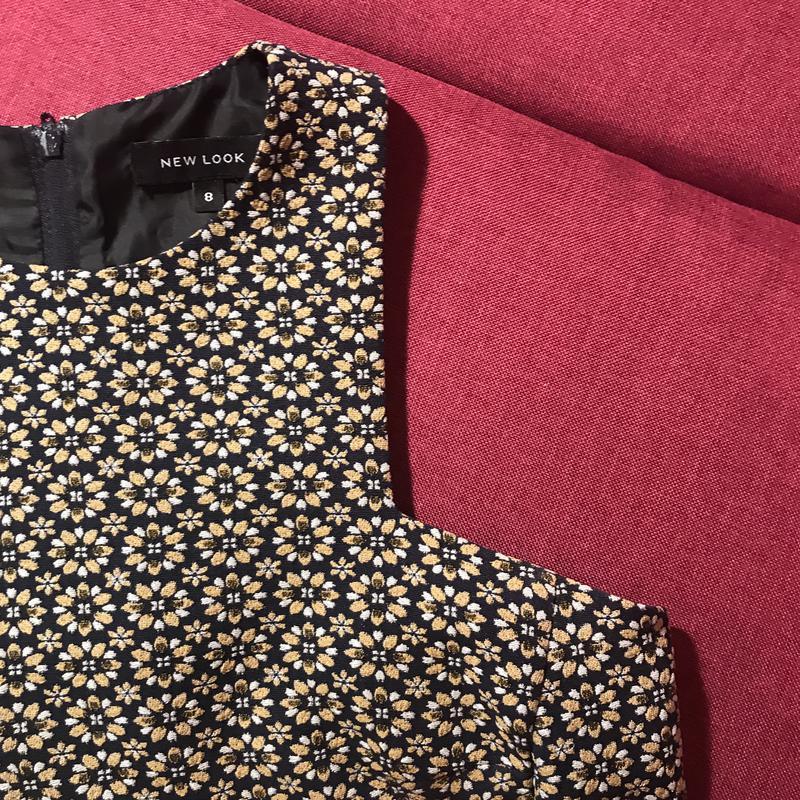 Платье в цветочный принт new look New Look 91e49bee64699