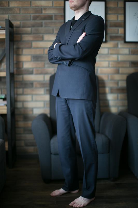 a69c28d07c86 Мужской костюм михаил воронин ( пиджак + брюки), цена - 900 грн ...