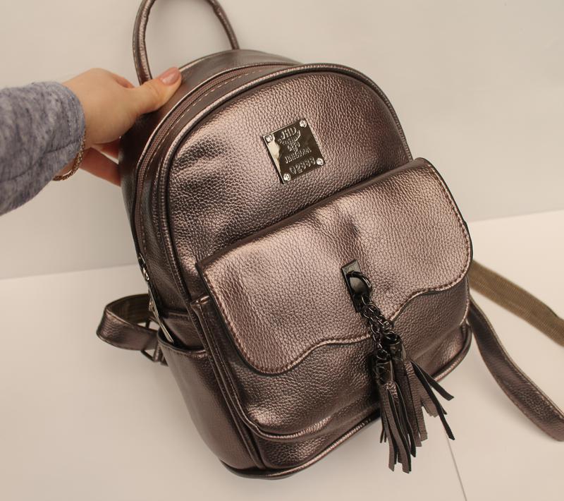 4bda2d8cd1e7 Рюкзак, ранец, городской рюкзак, маленький рюкзак, женский рюкзак, эко  кожа1 фото ...
