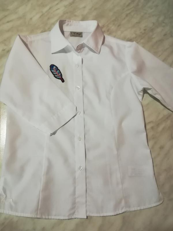 faad04cb4d1 Рубашка-блуза next school для девочки 10 лет