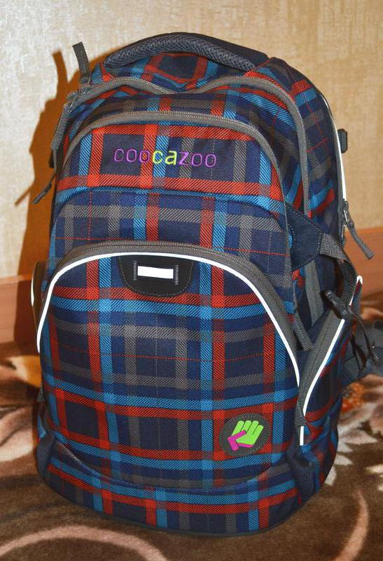 cf30194da4a0 Школьный рюкзак hama coocazoo jobjobber check peacoat молодёжный рюкзак1  фото ...