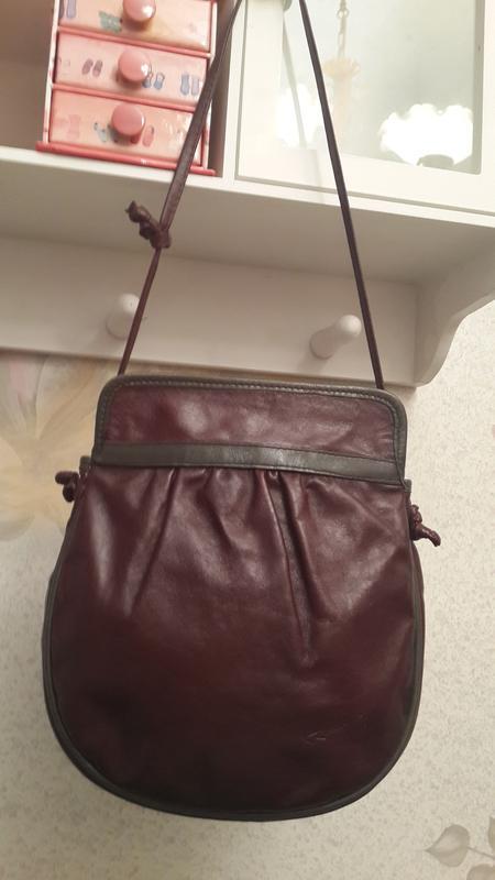Шикарная кожаная сумка crossbody мини италия цвета бордового марсала1 ... c8e71fd6731