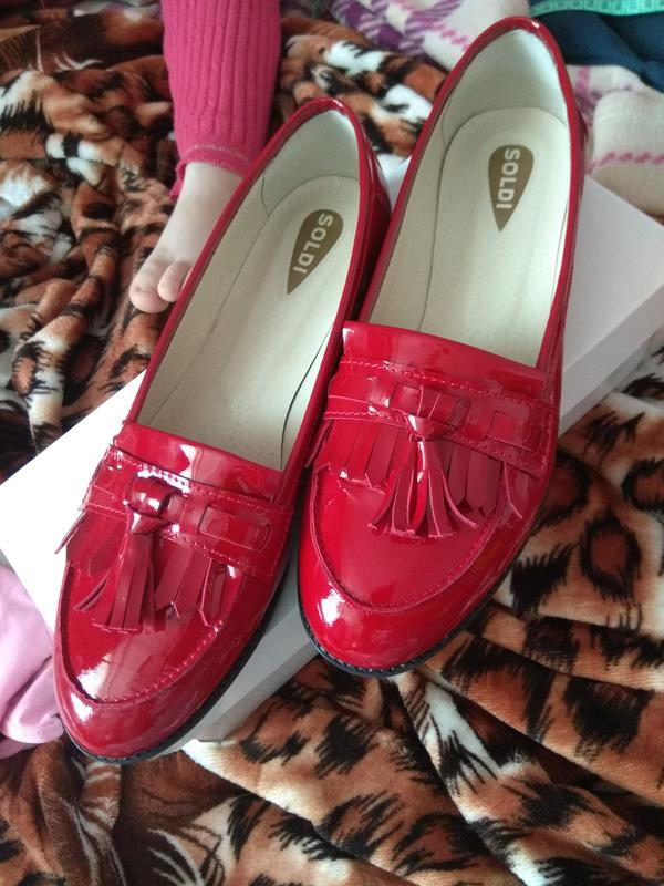 25.8см кожаные лоферы туфли soldi шелдон-pr 39р красные на низком ходу1 ... f0ee3ab3f2e