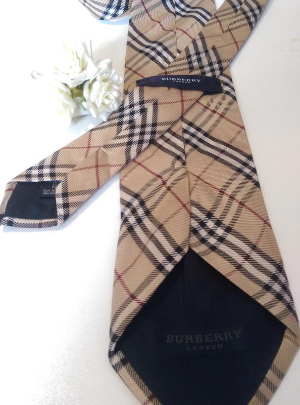 Брендовый мужской галстук burberry,натуральный шелк,оригинал (Burberry) за  150 грн.   Шафа 7de170ba826