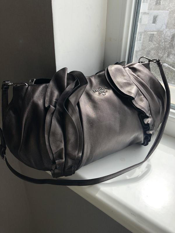 c6efd97b8ca1 Кожаная сумка prada, 100% натуральная кожа Prada, цена - 700 грн ...