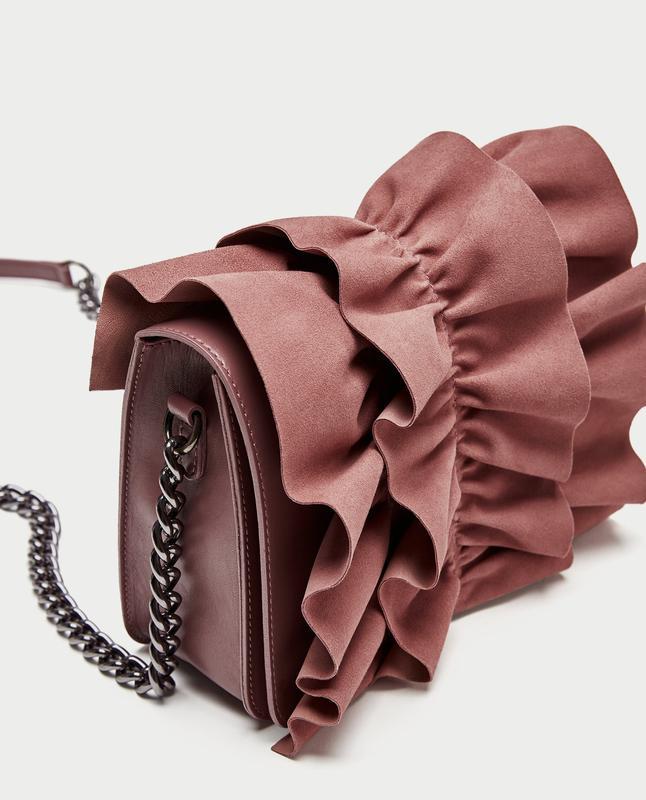 221858d2a523 Кожаная 100% сумка на длинной ручке zаra оригинал из испании -уценка!1 фото  ...