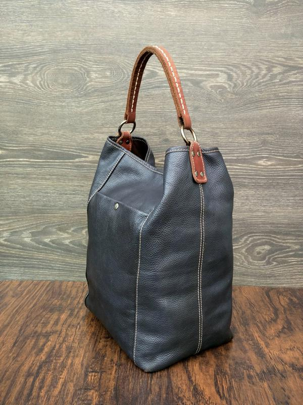 e423506fc008 Ceannis bucket bag кожаная сумка - шоппер /мешок (швеция) большая и  вместительная1 фото ...