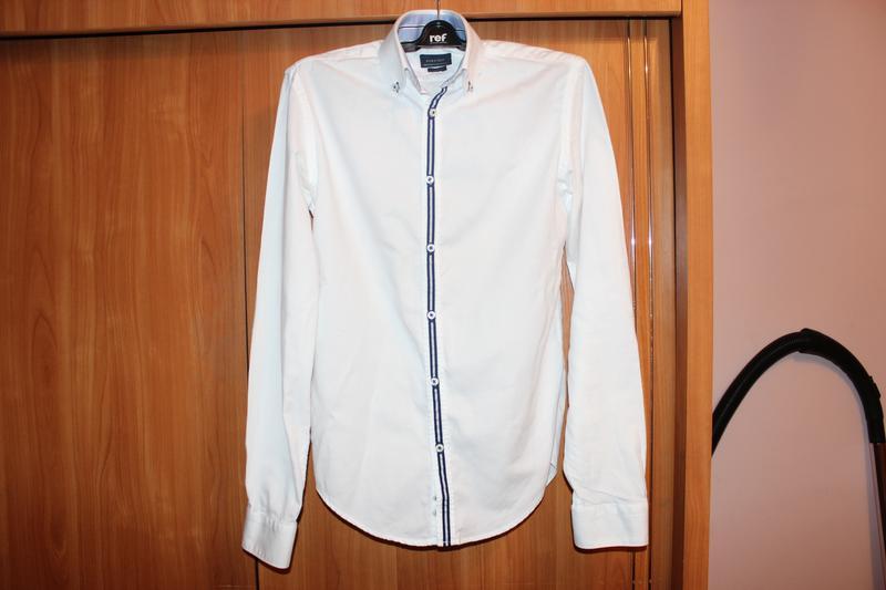 Рубашка zara мужская льняная ZARA, цена - 400 грн, #12029075, купить по доступной цене | Украина - Шафа