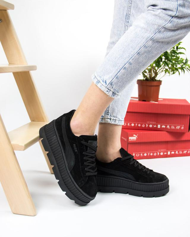 watch eb507 d5097 Женские кроссовки puma fenty cleated creeper suede x rihanna  р.36,37,38,39,40 (Puma) за 1550 грн. | Шафа