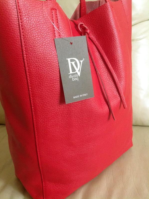 11dba104f1c4 Vip крутая большая кожаная сумка шоппер – 100% натуральная мясистая кожа–  италия - новая1 ...