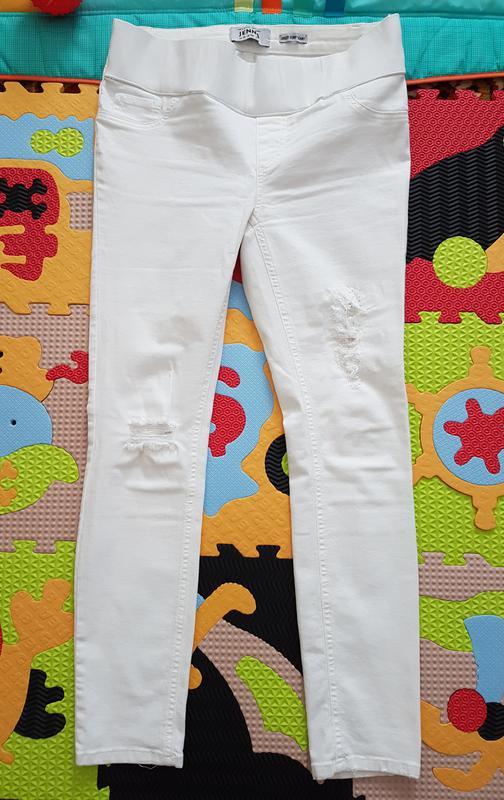 5133edd71e3e Джинсы белые для беременных, цена - 320 грн,  12120651, купить по ...