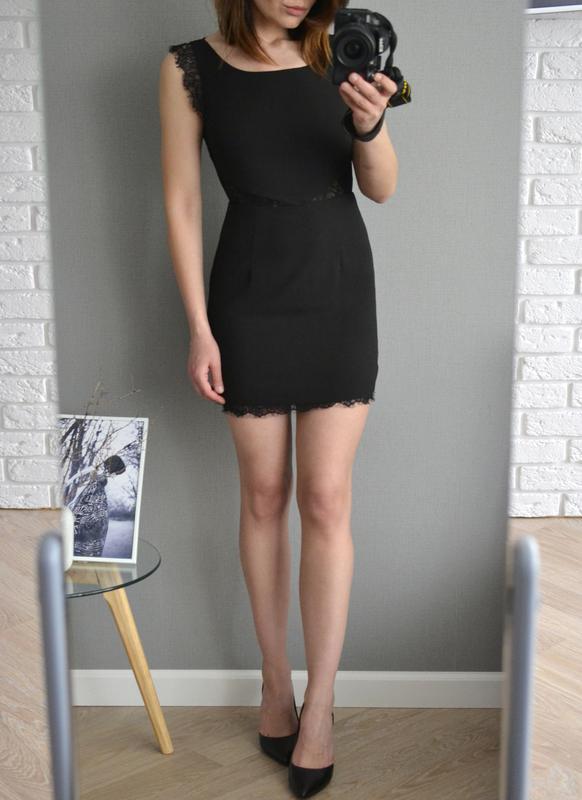 01e60a9aea8 Маленькое черное платье с кружевом glamorous Glamorous