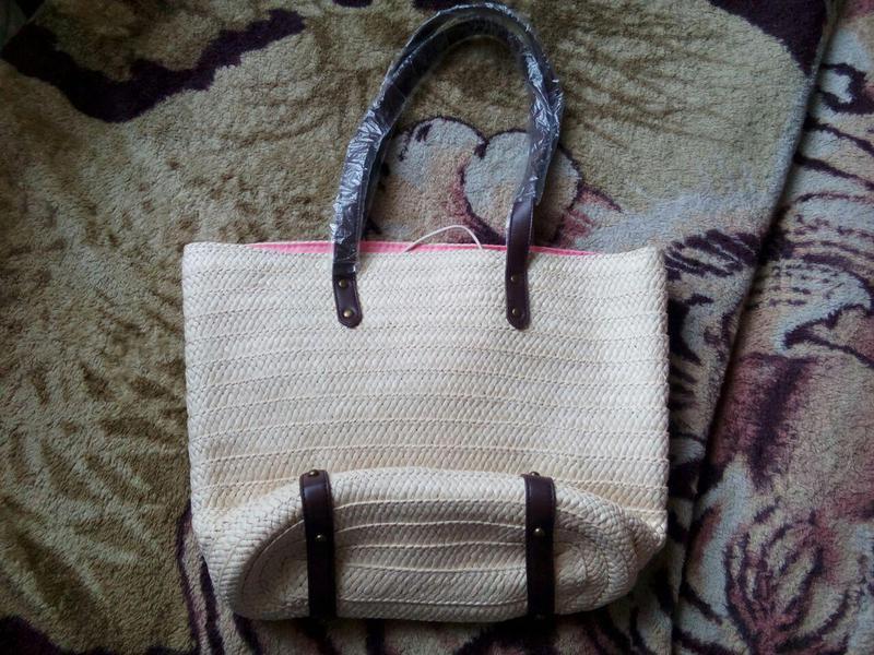 1f30a486cbad Летняя соломенная сумка «солнечный пляж» Oriflame, цена - 299 грн ...