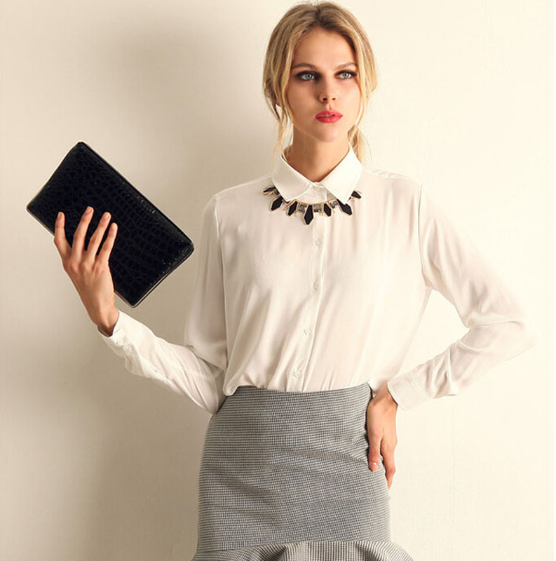 ccab8a6ebca0 Блузка/рубашка женская белая шифоновая, цена - 350 грн, #12225932 ...