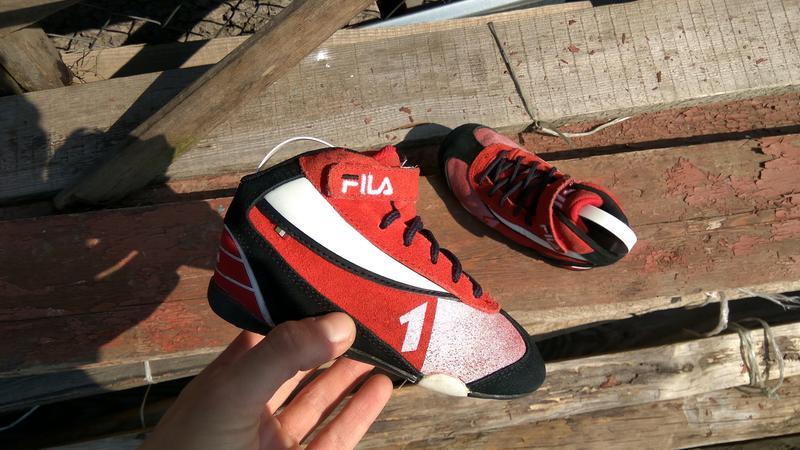 Продам детские высокие кроссовки fila 24р (боксерки) Fila, цена ... 7f8b2013938