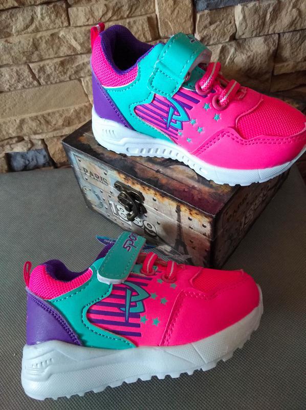b8b51f13 Детские кроссовки на девочку размеры 22-27 тм світ.т, цена - 160 грн ...