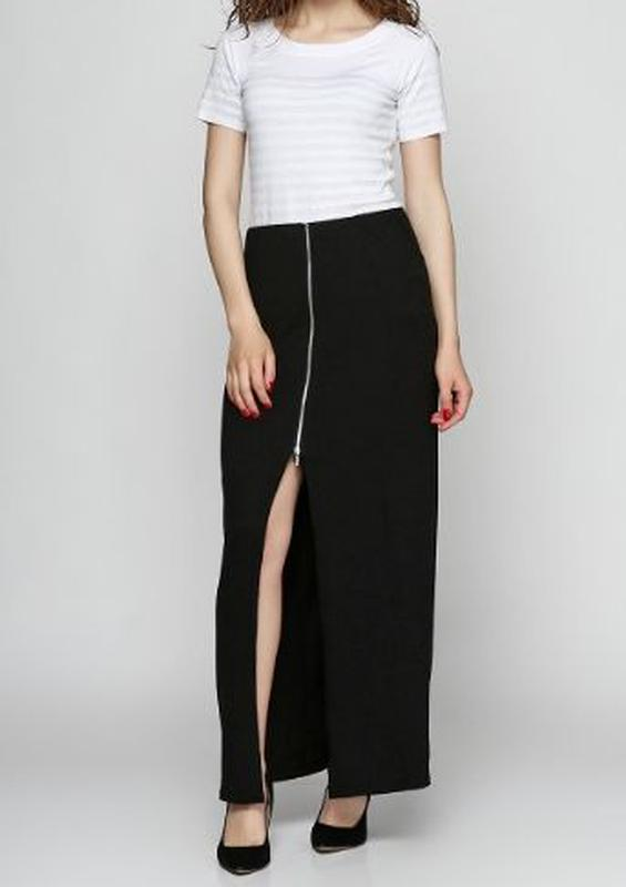 60dbe84d062 Новая длинная юбка на молнии morgan1 фото ...