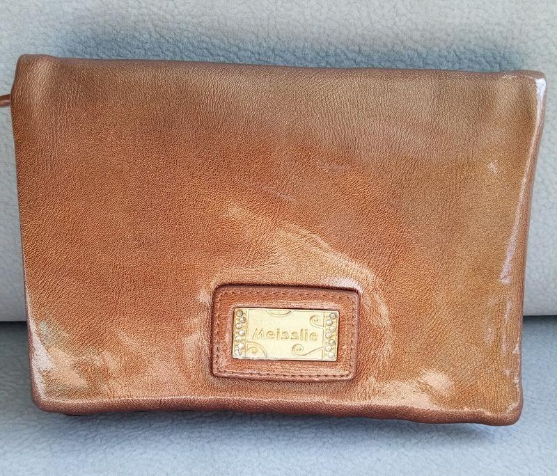 457f5954ccae Клатч-косметичка meisslie золотого цвета, цена - 180 грн, #12256799 ...