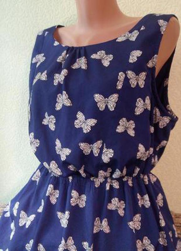 f0466e7b05d92b Очаровательное летнее платье new look 48-50-52/літня сукня плаття.1 ...
