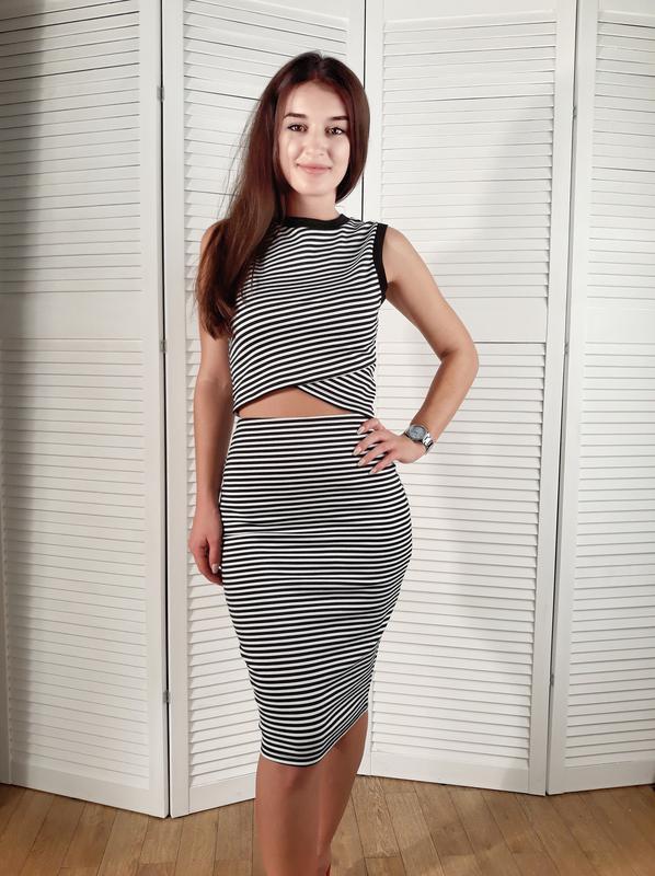 костюм юбка и топ купить 7
