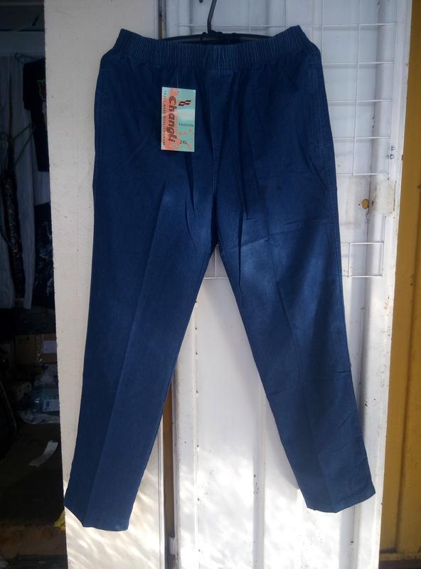 84f260a4 Мужские тонкие брюки на резинке новые штаны больших размеров1 фото ...