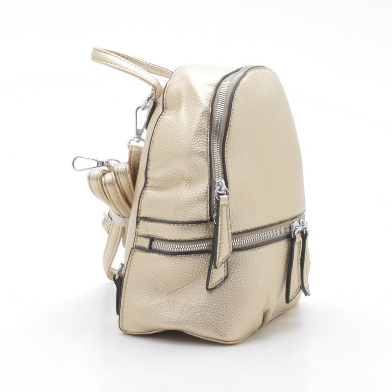 f98e7b89d93d Рюкзак из кожзама gj-23 золотистый (6 цветов), цена - 315 грн ...